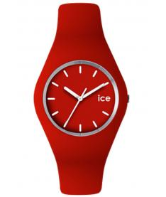 Montre Mixte Ice Watch Ice ICERDUS12 Bracelet Silicone Rouge