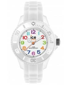 Montre Femme Ice Watch Ice-Mini MNWEMS12 Bracelet Silicone Blanc