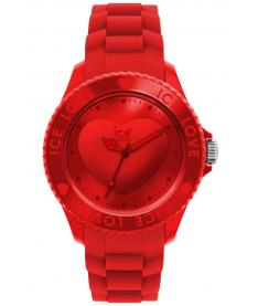 Montre Mixte Ice Watch Ice-Love LORDUS10 Bracelet Silicone Rouge