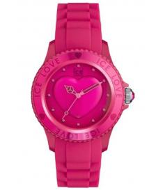 Montre Mixte Ice Watch Ice-Love LOPKUS10 Bracelet Silicone Rose