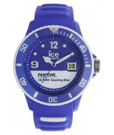Montre Mixte Ice Watch Ice-Pantone Color PANBCDABUS13 Bracelet Silicone Bleu
