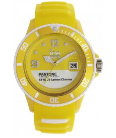 Montre Mixte Ice Watch Ice-Pantone Color PANBCLECUS13 Bracelet Silicone Jaune