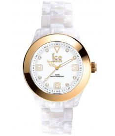 Montre Mixte Ice Watch Ice Elegant ELPGDUAC12 Bracelet Plastique Blanc