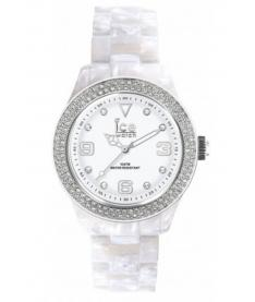 Montre Mixte Ice Watch Ice Elegant ELPSRUAC12 Bracelet Plastique Blanc