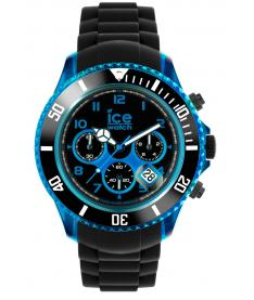Montre Homme Ice Watch Ice-Chrono Electrick CHKBEBBS12 Bracelet Silicone Noir