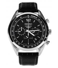 Montre Homme Seiko Sport SSB097P1 Collection Sport Bracelet Noir