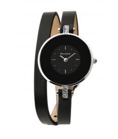 Montre Femme Pierre Lannier 121H633 Bracelet Cuir Noir
