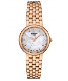 Montre Femme Tissot Crinoline T9190107711600 Bracelet Or Rose