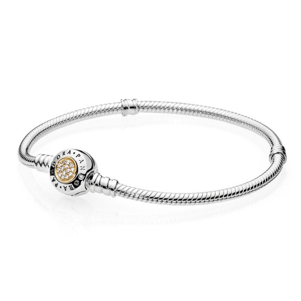 bracelet maille serpent argent type pandora