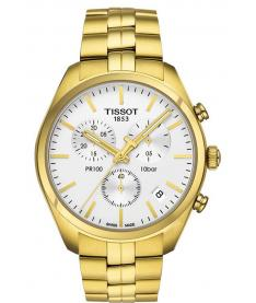 Montre Homme Tissot PR 100 Chronographe T1014173303100 Bracelet Acier