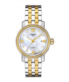 Montre Femme Tissot Bridgeport Diamants T0970102211600 Bracelet Acier