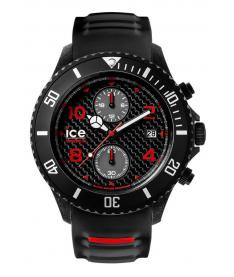 Montre Homme Ice Watch Ice Carbon CACHBKBBS15  Bracelet Silicone