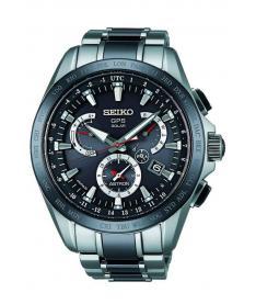 Montre Homme Seiko Astron SSE041J1 Bracelet Titane et Céramique
