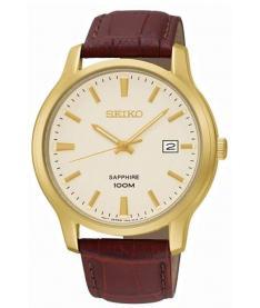 Montre Homme Seiko Classique SGEH44P1 Bracelet Cuir