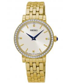 Montre Femme Seiko Classique SFQ808P1 Bracelet Acier