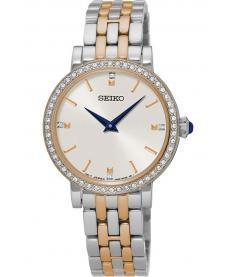 Montre Femme Seiko Classique SFQ810P1 Bracelet Acier