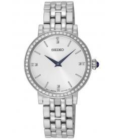 Montre Femme Seiko Classique SFQ811P1 Bracelet Acier
