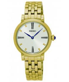 Montre Femme Seiko Classique SFQ814P1 Bracelet Acier