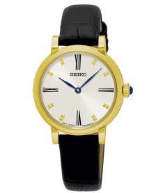 Montre Femme Seiko Classique SFQ814P2 Bracelet Cuir