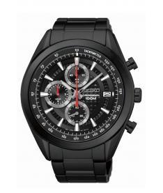 Montre Homme Seiko Sport Chronographe SSB179P1 Bracelet Acier