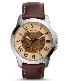 Montre Homme Fossil Automatique ME3122 Bracelet Cuir