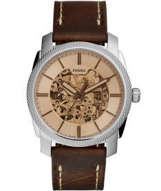 Montre Homme Fossil Automatique ME3115 Bracelet Cuir Marron