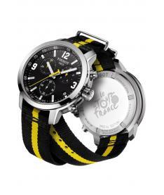 Montre Homme Tissot PRC-200 Tour De France T0554171705701 Bracelet Nato Noir