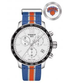 Montre Homme Tissot Quickster NBA New York Knicks T0954171703706 Bracelet Nato