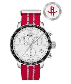 Montre Homme Tissot Quickster NBA Houston Rockets T0954171703712 Bracelet Nato