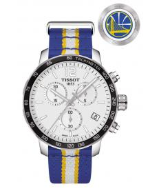 Montre Homme Tissot Quickster NBA Golden State Warriors T0954171703715 Bracelet Nato