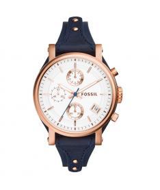 Montre Femme Fossil  es3838 Bracelet Cuir