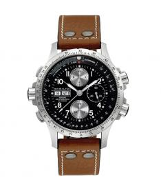 Montre Homme Hamilton Khaki Aviation X-Wind h77616533 Bracelet Cuir