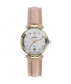 Montre Femme Michel Herbelin Newport Diamants 14255/T89SA Bracelet Cuir