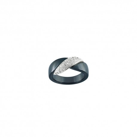 Bague Ultimate Ceramic en or et diamants 09C46GCNB