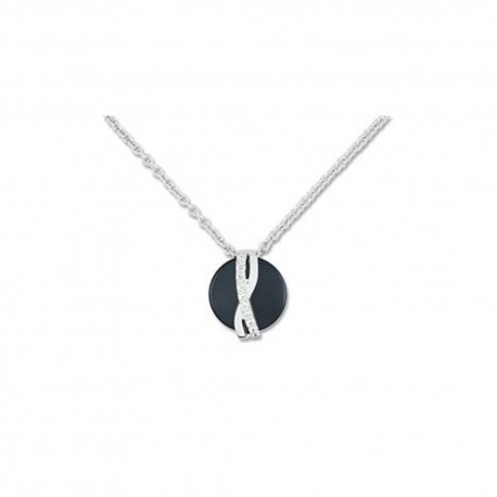 Collier Ultimate Ceramic en argent et céramique ACC035NZ