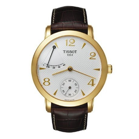 Montre Homme Tissot Or Sculpture Line T71345934