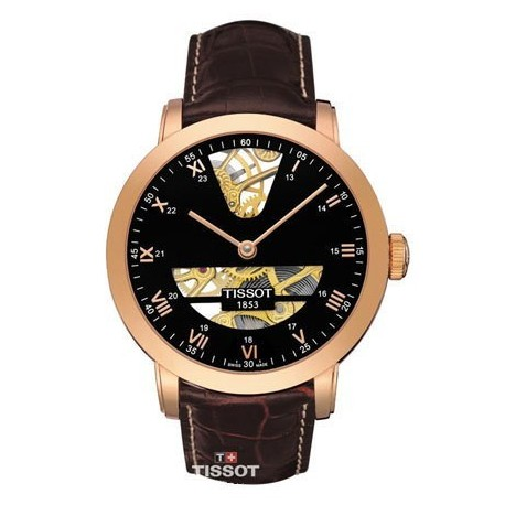 Montre Homme Tissot Or Sculpture Line T71847153