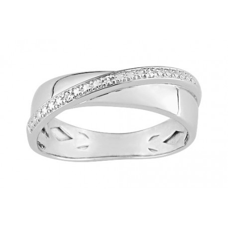 Bague Diamant 0.015 ct OR375