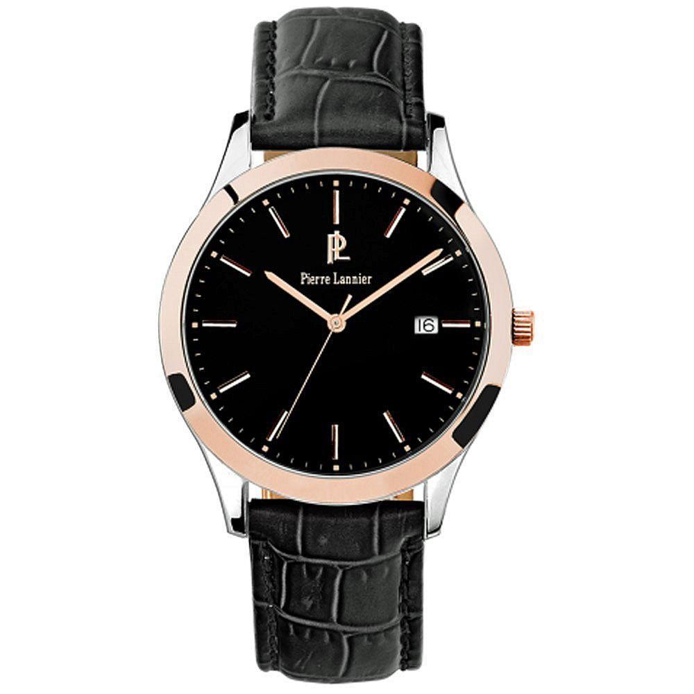 montre femme calvin klein ck equal bracelet cuir noir k3e231c1 plan te bijouterie. Black Bedroom Furniture Sets. Home Design Ideas