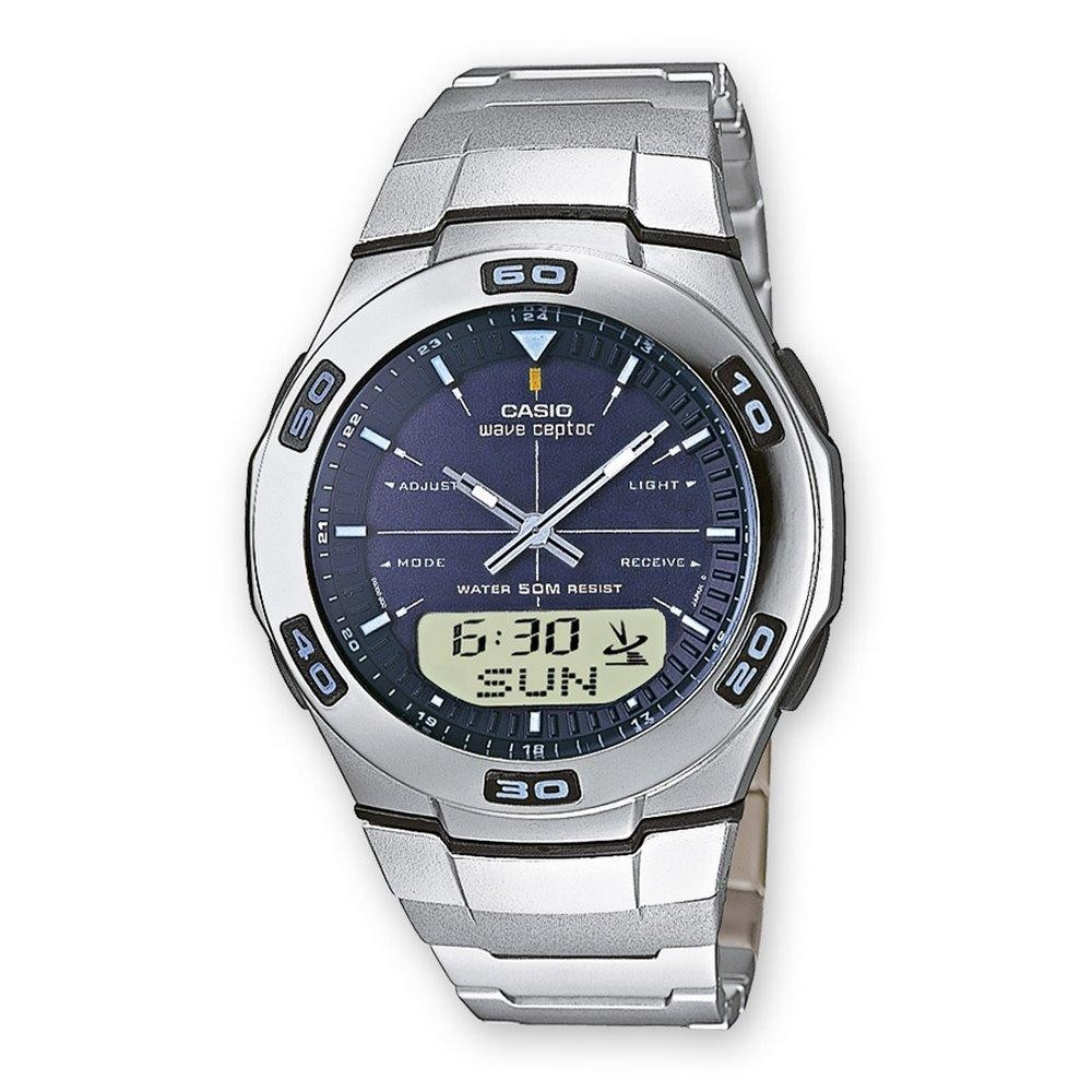 Les montres homme Montre CASIO WVA 105HDE 2AVER  j2iCa