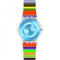 Montre Swatch pretty ladder mixte SFE107