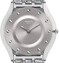 Montre Swatch silver drawer pour femme SFK393G