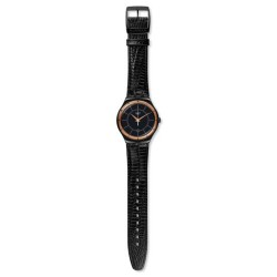Montre Swatch black nachtigall mixte YWB403