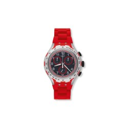 Montre Swatch red attack mixte YYS4018AG