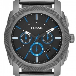 Montre Homme Fossil Machine FS4931 Collection Machine Bracelet Acier