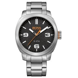 Montre Homme Boss Orange Cape Town 1513454 Bracelet Acier